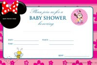 Modular Invitation For Baby Shower. Charming Free Printable Minnie Mouse with Review Minnie Mouse Baby Shower Invitations
