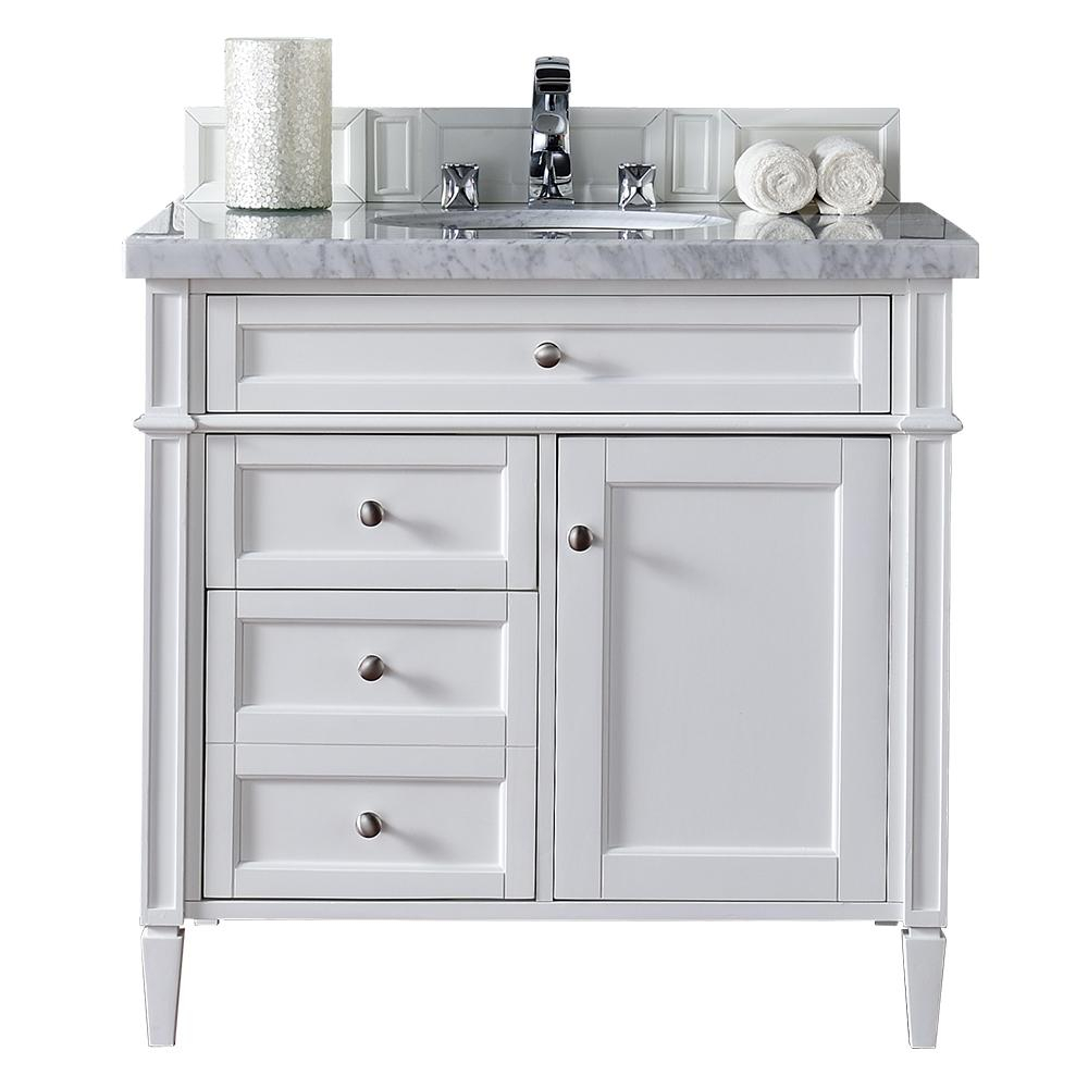 Modular James Martin Signature Vanities Brittany 36 In. W Single Vanity In with Awesome 36 In Bathroom Vanity With Top