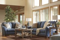 Modular Janley – Denim – Sofa & Loveseat | 43807/38/35 | Living Room Groups within Unique Living Room Dayton