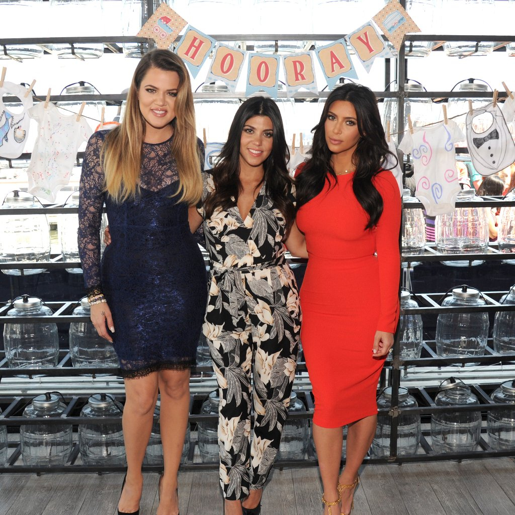 Modular Kardashians Host Military Baby Shower | Popsugar Moms intended for What To Wear At A Baby Shower