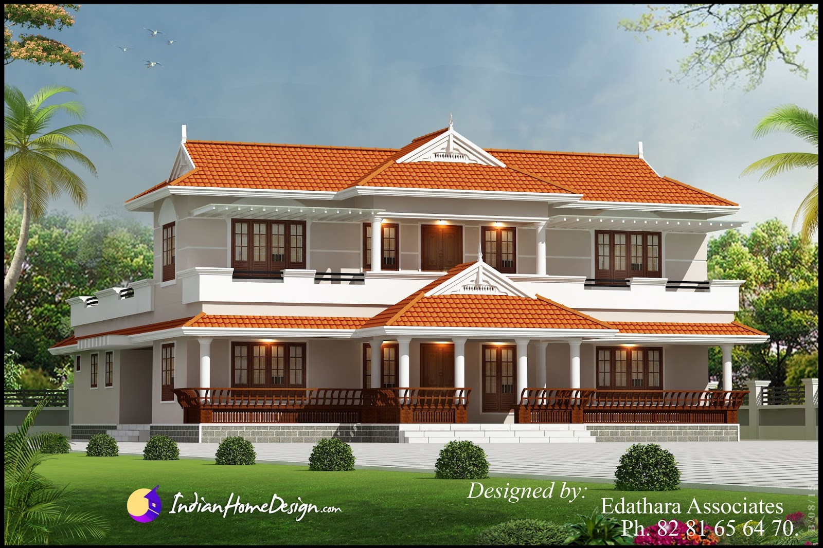 Modular Kerala Style 2288 Sqft Villa Design Traditional Double Floor Kerala for Kerala Traditional House Plans With Photos