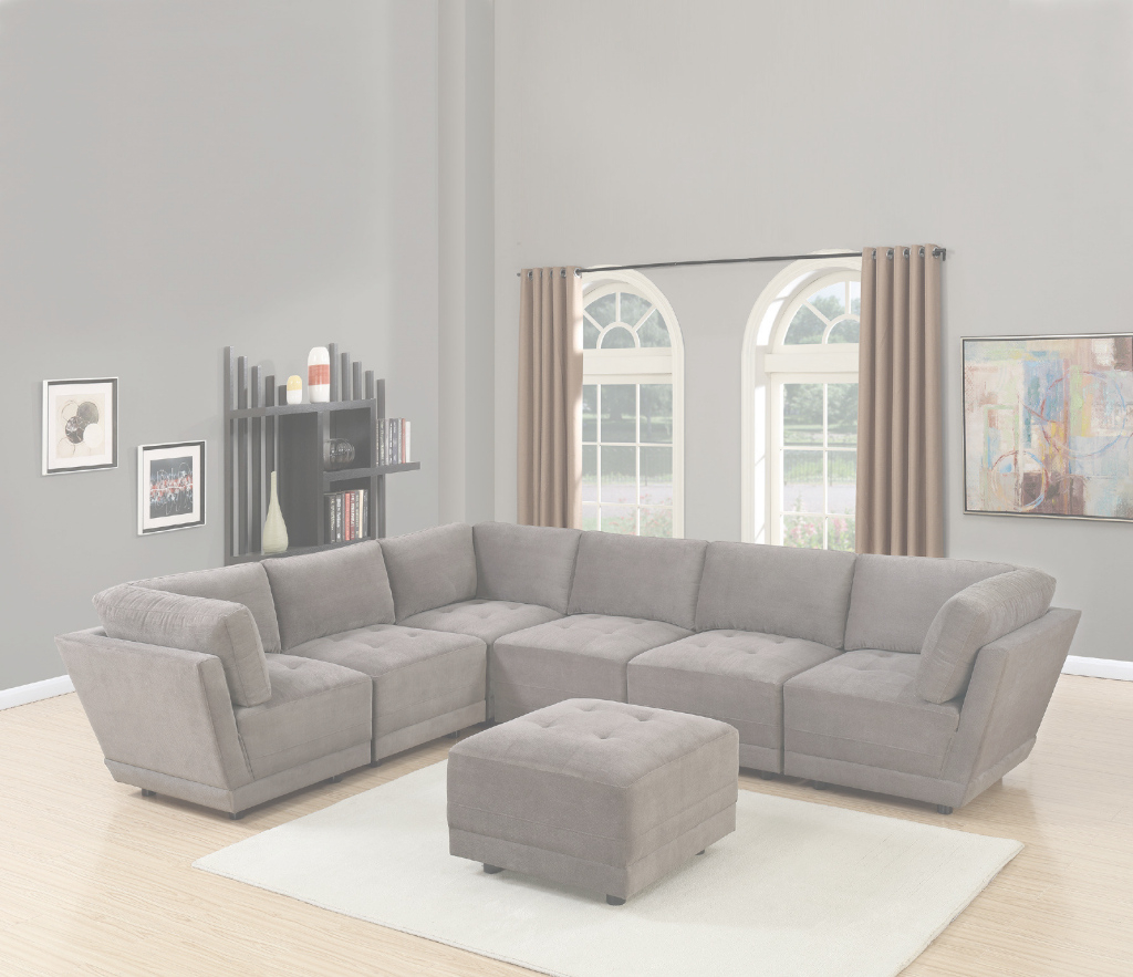 Modular Latitude Run Kleiman 7 Piece Living Room Set | Wayfair with regard to 7 Piece Living Room Set