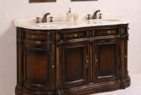 "Modular Legion Furniture 66"" Double Bathroom Vanity Set 