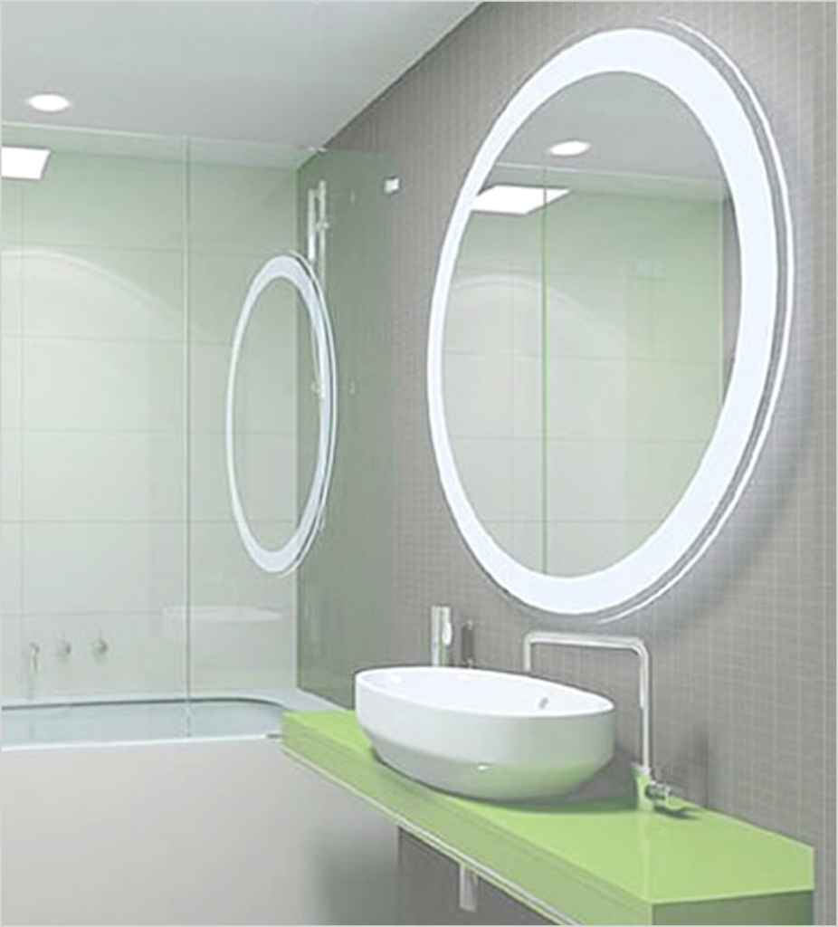Modular Lighted Bathroom Wall Mirror - Pixball intended for Best of Illuminated Wall Mirrors For Bathroom