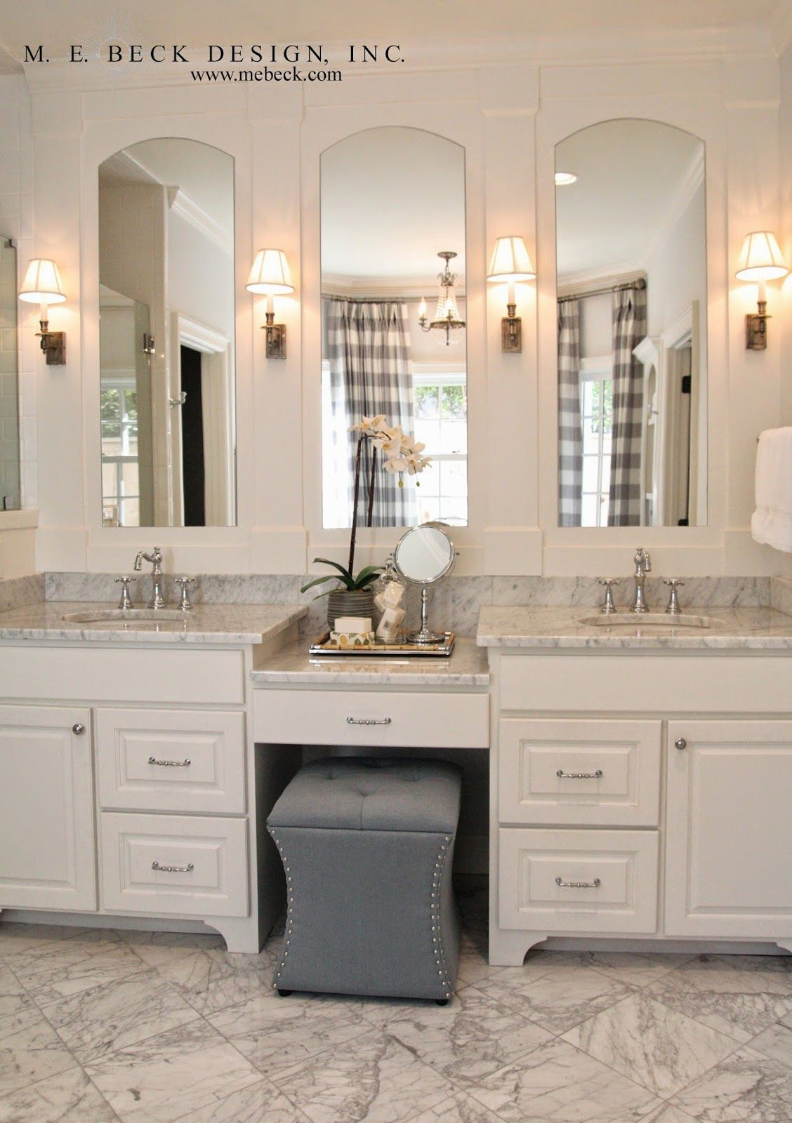 Modular Live Beautifully: Center Hall Colonial | Master Bath Vanity And intended for Master Bathroom Vanity