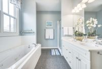 Modular Master Bath Color Benjamin Moore Yarmouth Blue | For Bathrooms throughout Fresh Yarmouth Blue Bathroom