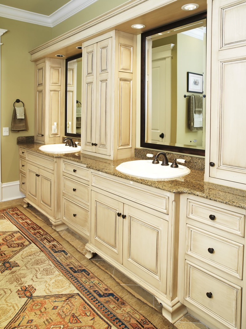 Modular Master Bathroom Vanity | Leslie Newpher Interiors | High-End with regard to High Quality Master Bathroom Vanity