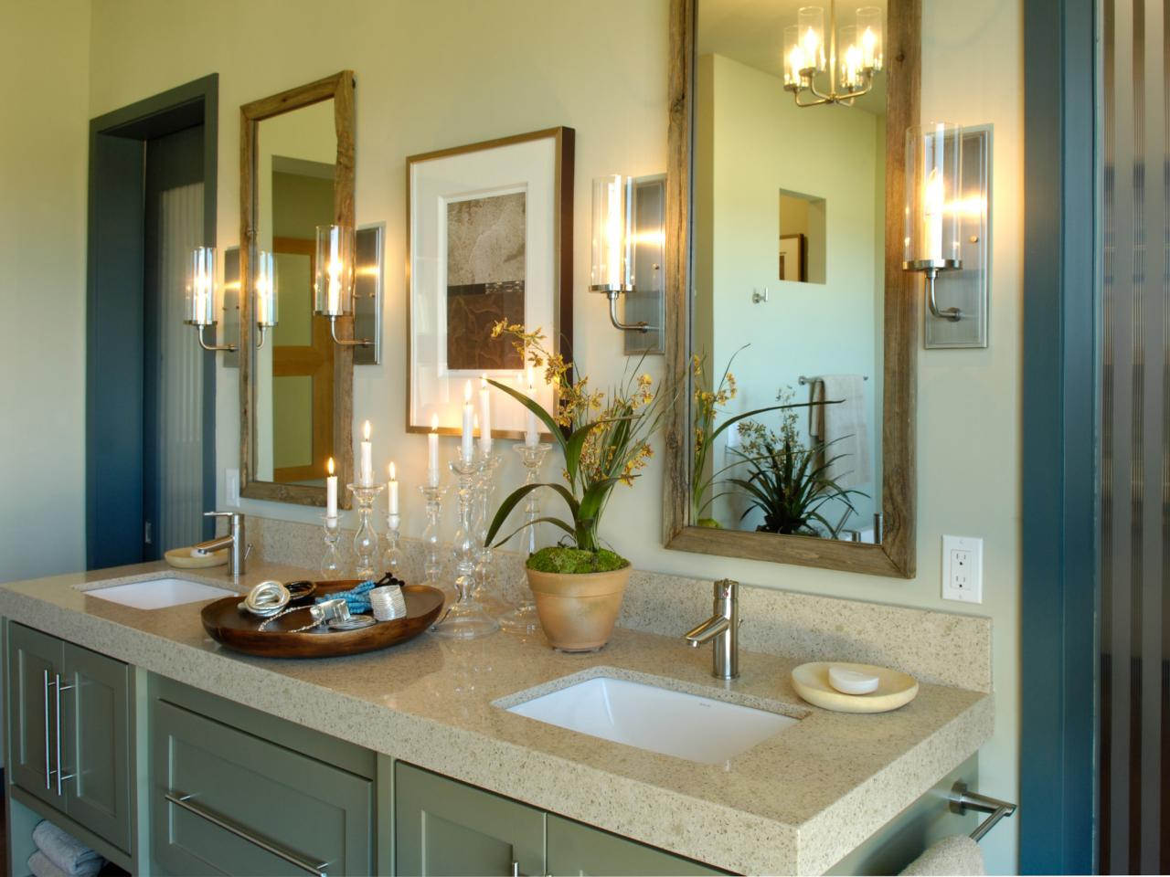 Modular Master Bathrooms | Hgtv throughout Master Bathroom Decorating Ideas