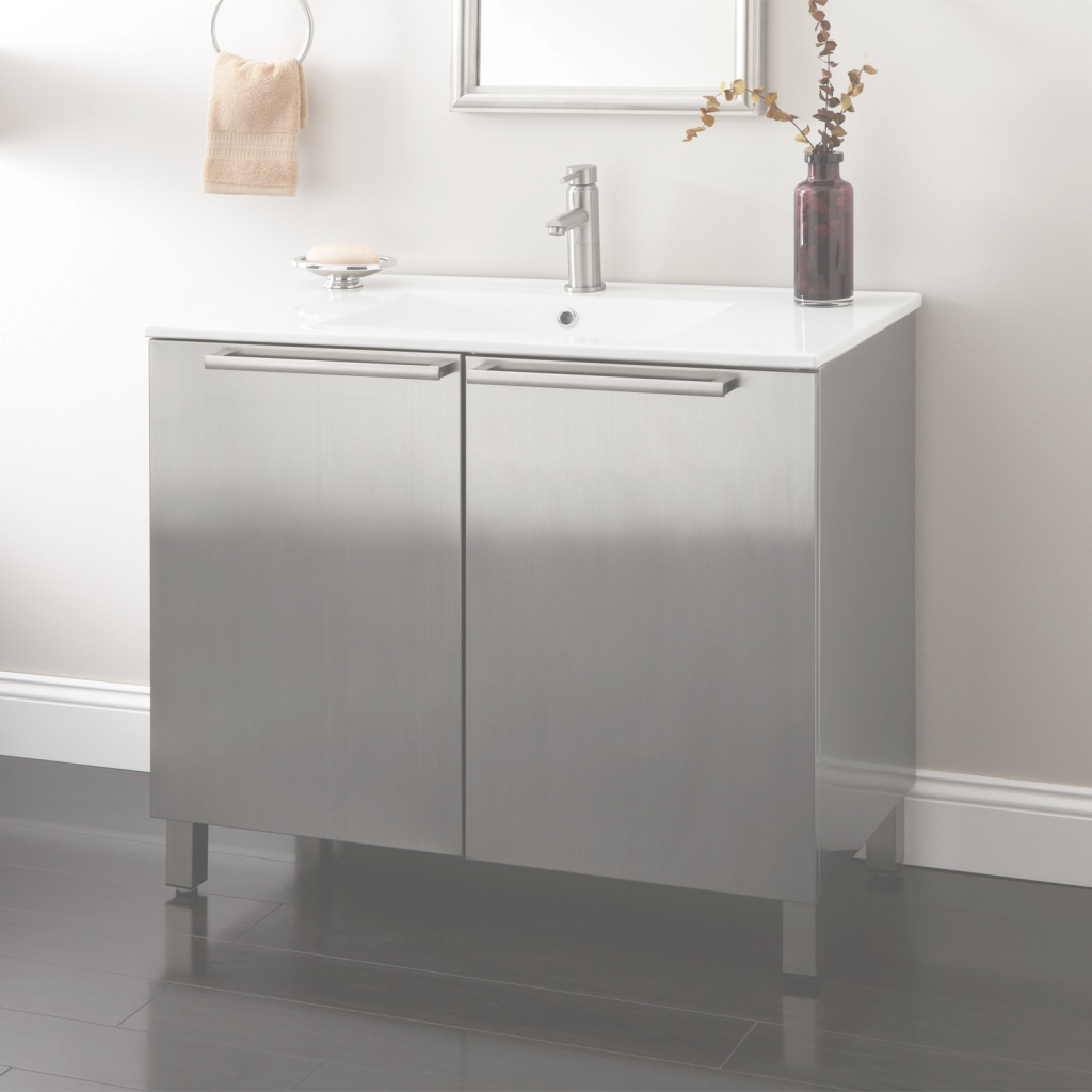 Modular Metal Bathroom Vanity Door : Top Bathroom - Special Ideas About with Metal Bathroom Vanity