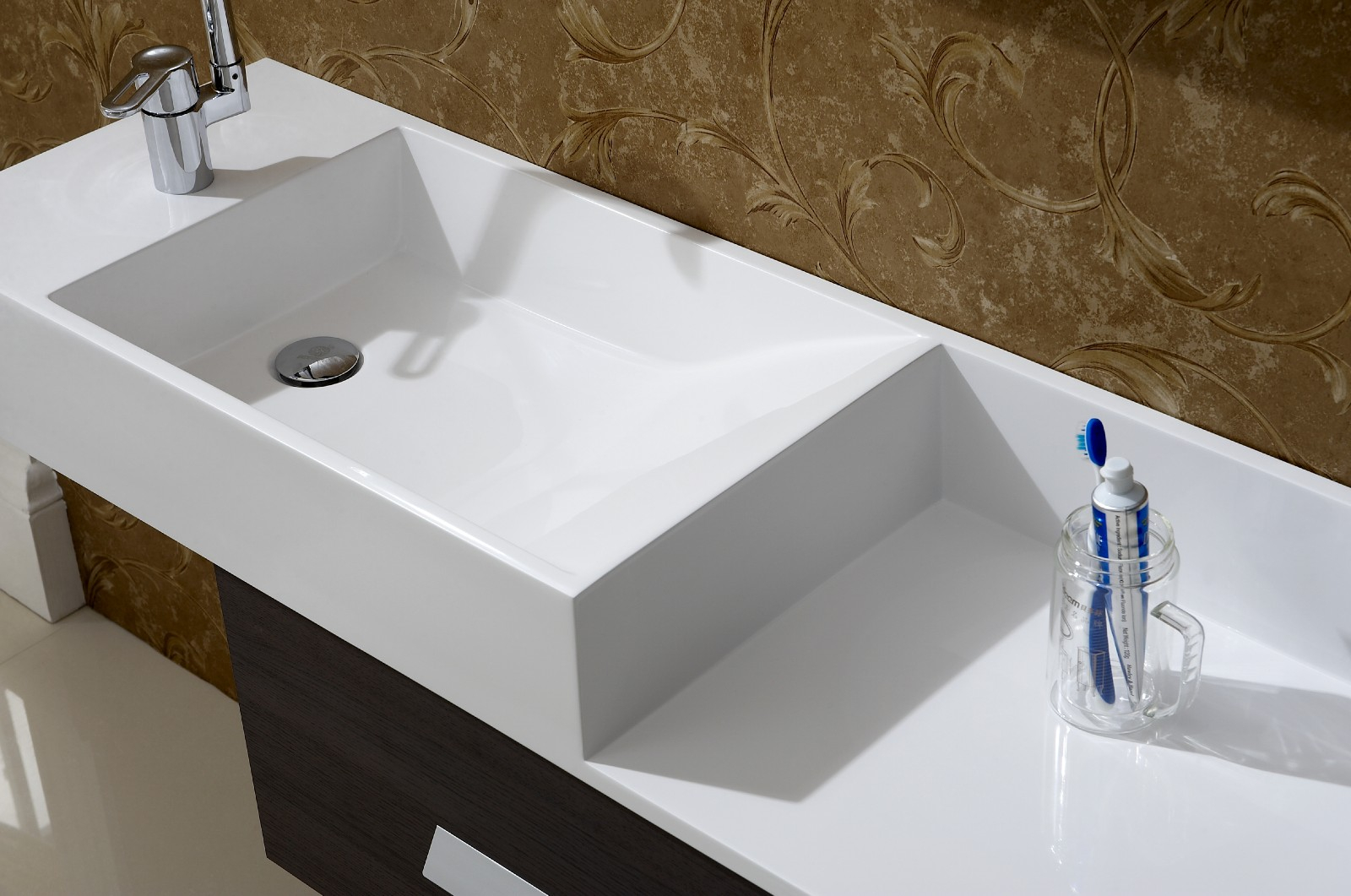 Modular Modern Bathroom Sinks White — Nhfirefighters : Option Modern within New Designer Bathroom Sinks