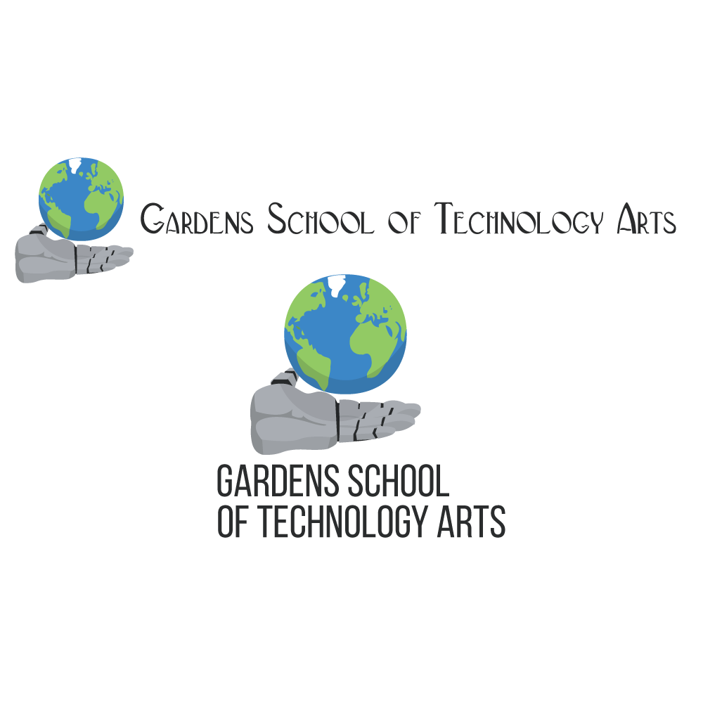 Modular Modern, Bold, Education Logo Design For See Attachedrodrigo pertaining to Gardens School Of Technology Arts