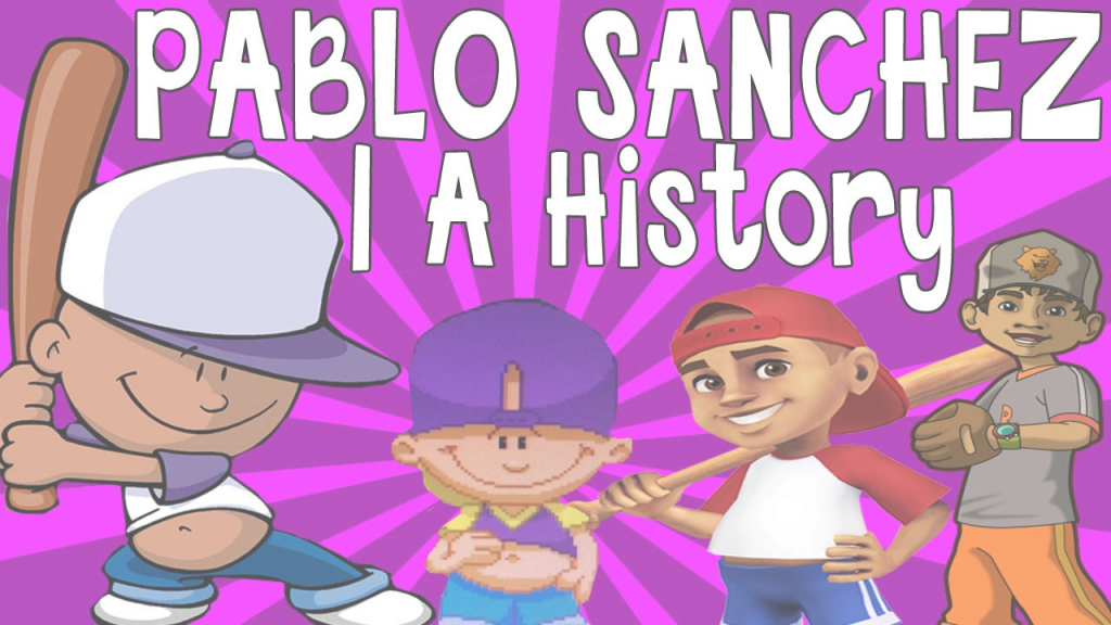 Modular Pablo Sanchez (Backyard Sports) | A History - Youtube with Inspirational Backyard Sports