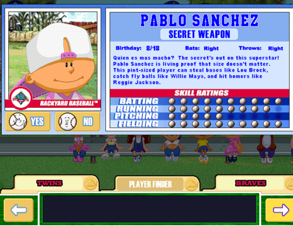 Modular Pablo Sanchez Screenshots, Images And Pictures - Giant Bomb inside Pablo Sanchez Backyard Baseball