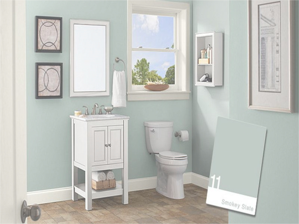 Modular Paint Color For Bathrooms Without Windows Paint Colors For From Wall throughout Yarmouth Blue Bathroom