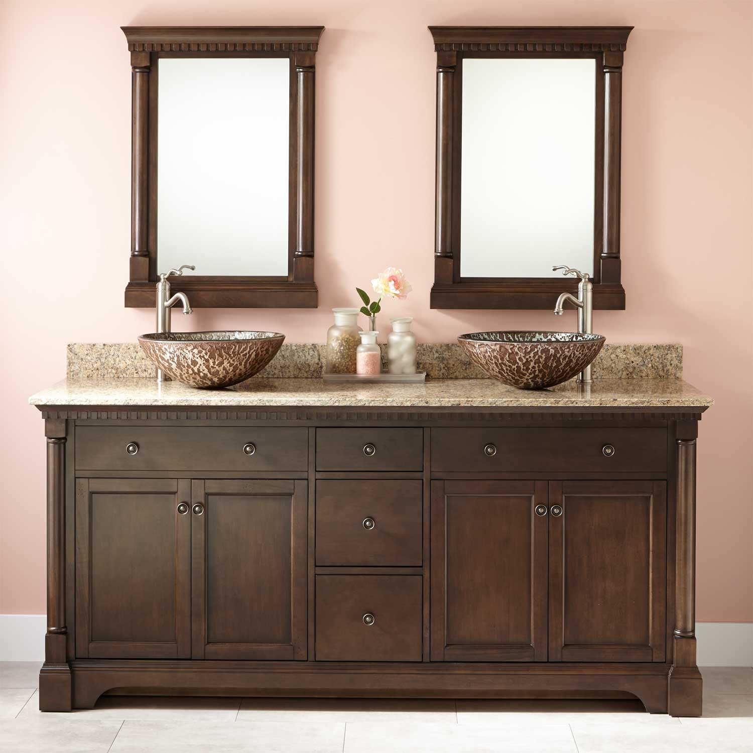 Modular Perfect Double Sink Bathroom Vanity Ideas Top 68 Single 72 White 60 throughout Bathroom Vanities Double Sink 72
