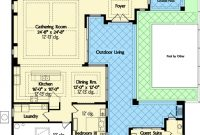 Modular Plan 42834Mj: Florida House Plan With Wonderful Casita | Pinterest regarding Free House Plans With Mother In Law Suite Stock