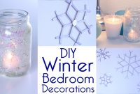 Modular Room Decor: Diy Winter Bedroom Decorations Tutorial | Decorateyou with Unique Winter Decorations Diy