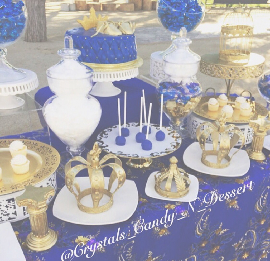 Modular Royal Blue And Gold | Baby Shower | Pinterest | Royal Blue, Royals within Royal Blue And Gold Baby Shower Ideas