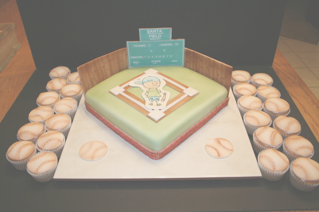 Modular Sherry's Kneadful Delights: Baby Shower Cakes inside Baseball Baby Shower Cakes