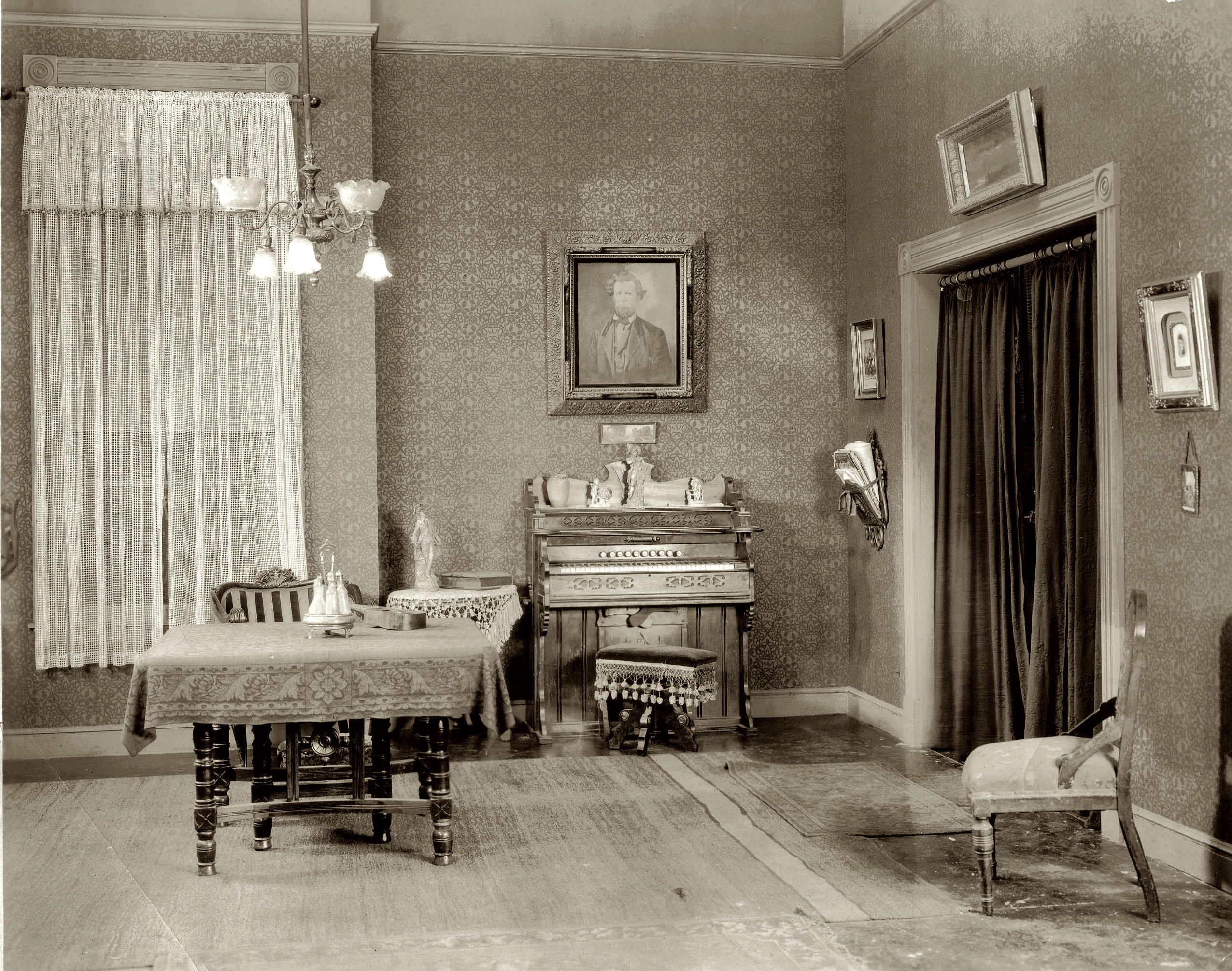 Modular Shorpy Historic Picture Archive :: Drawing Room 1920S High intended for 1920S Living Room