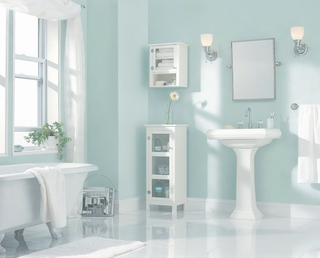 Modular Small Bathroom Paint Color Ideas - A Warm Color Palette Typically Is pertaining to Bathroom Paint Color Ideas