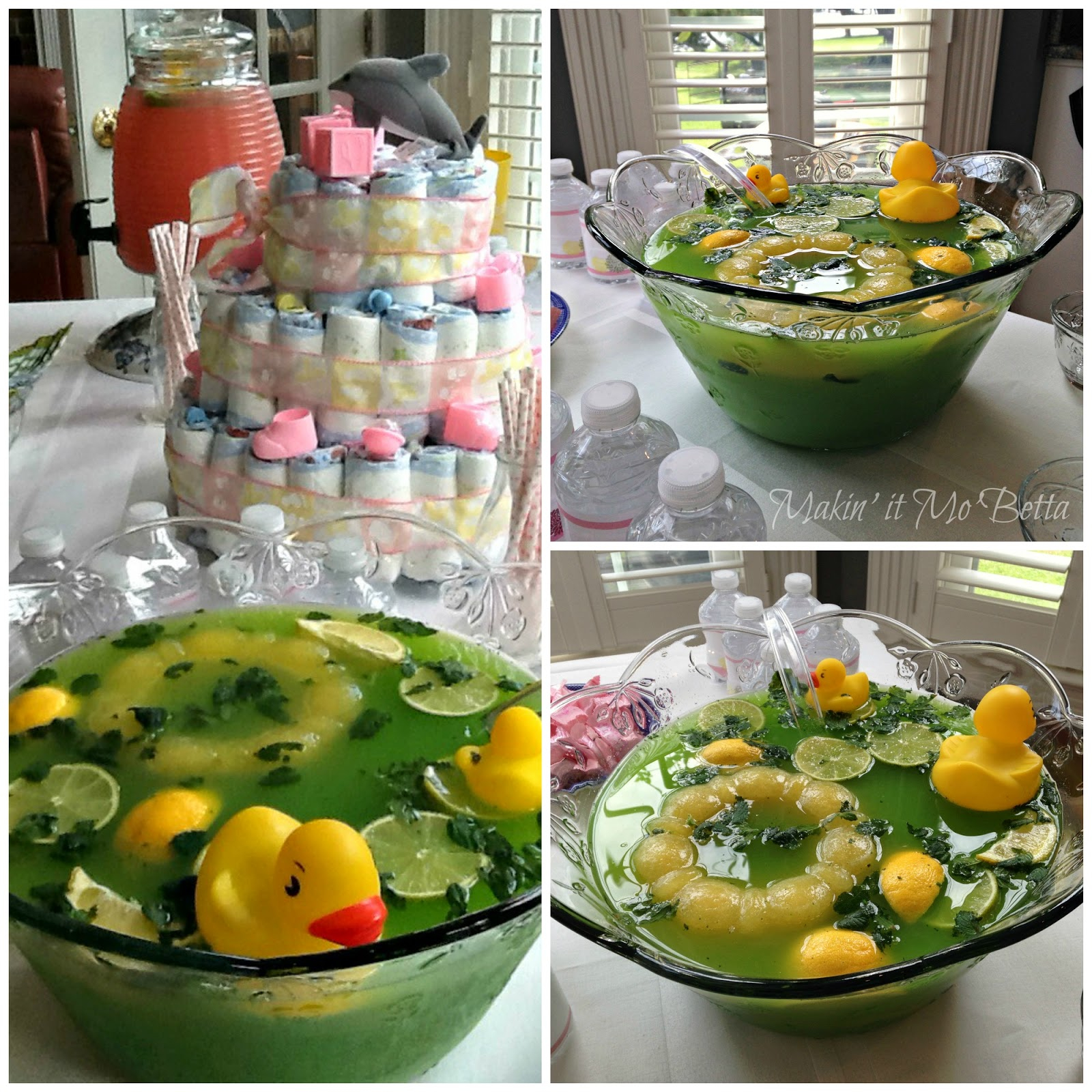 Modular Sparkling Pineapple-Lime Punch {And Baby Shower Beverages} – Makin inside Beautiful Punch For A Baby Shower