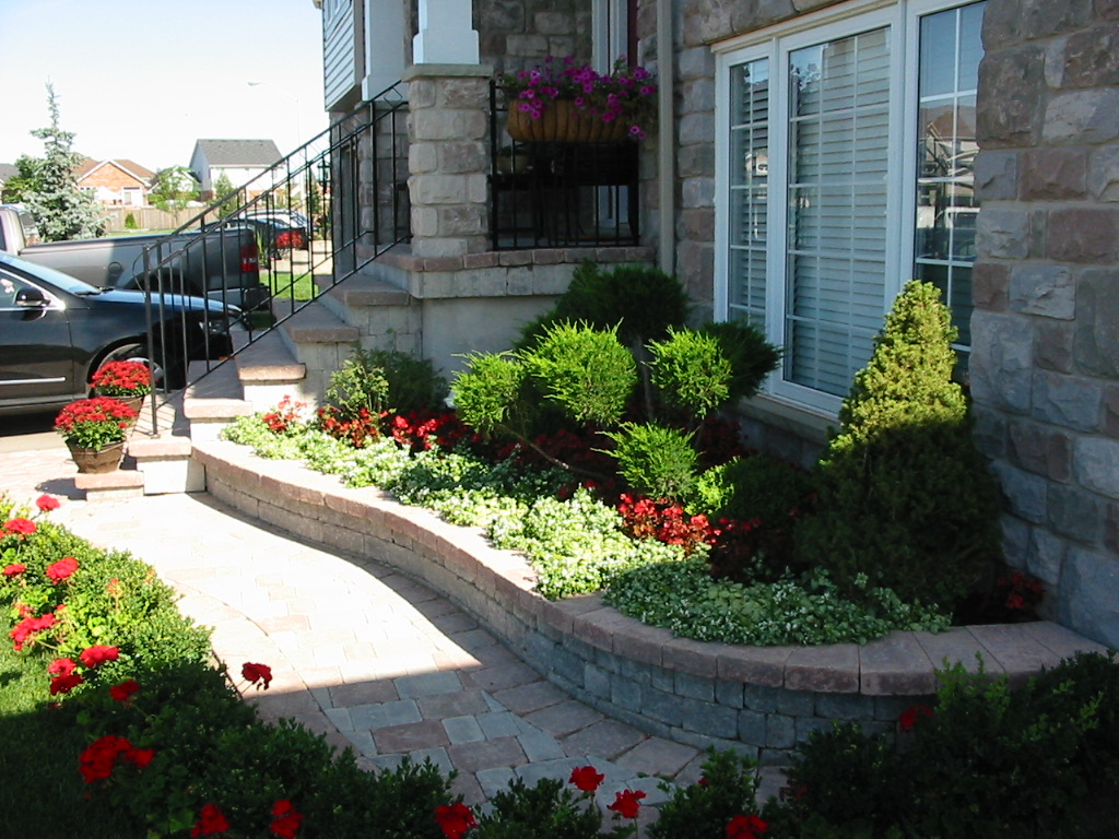 Modular Stylish Front Yard Landscaping Ideas : Manitoba Design - Small Front with regard to Inspirational Landscape Design Front Yard