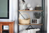 Modular Summer Living Room Shelving – The Wood Grain Cottage with Fresh Living Room Shelving