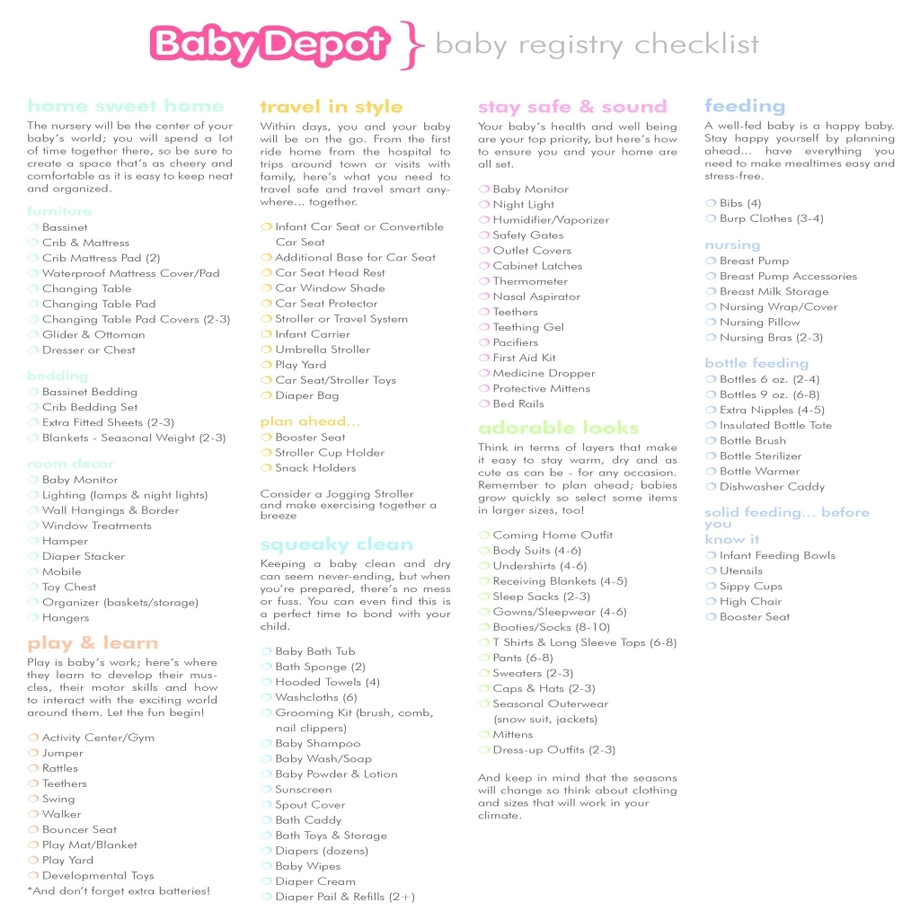 Modular The Most Brilliant In Addition To Interesting Baby Shower Checklist pertaining to Baby Shower Checklist Pdf