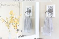 Modular Thrifty And Chic – Diy Projects And Home Decor throughout Bathroom Towel Holder Ideas