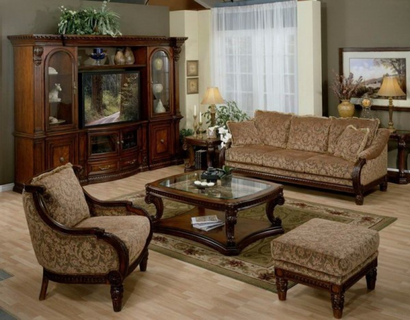 Modular Traditional Sitting Room Ideas - Arelisapril intended for Traditional Living Room Ideas