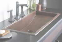 Modular Trough 36 – 36-Inch Rectangular Copper Bathroom Sink | Native Trails within Best of Trough Sink Bathroom