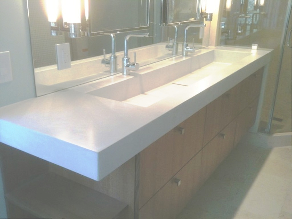 Modular Trough Sinks For Bathrooms Attractive Bathroom Double Sink Ikea in Trough Sink Bathroom