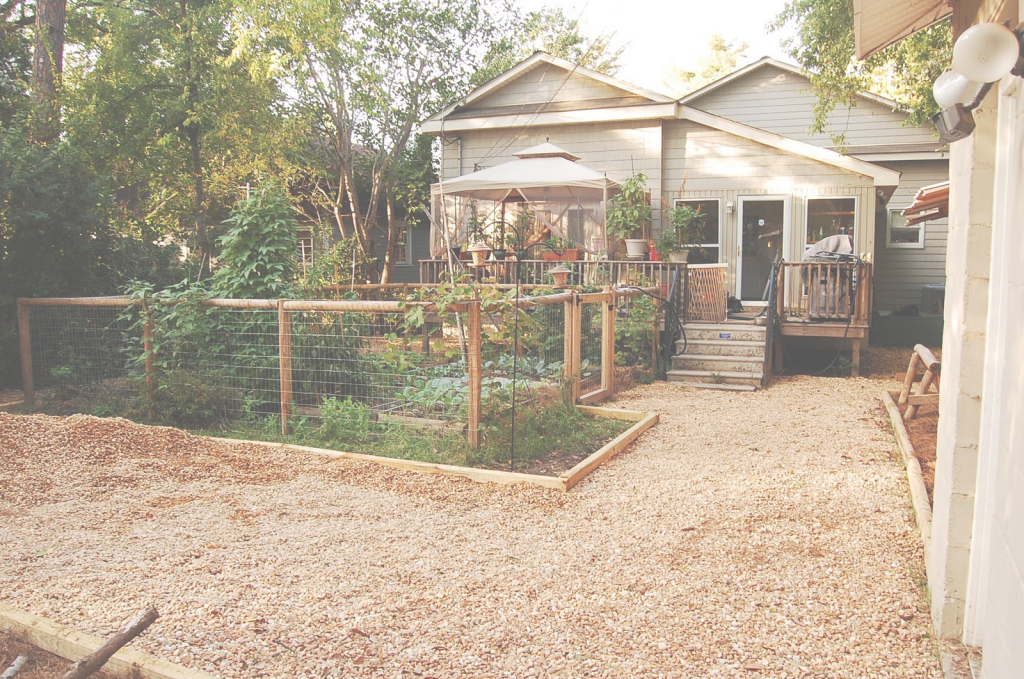 Modular Urban Self-Sufficientist: Backyard Remodel On The Cheap throughout Urban Backyard