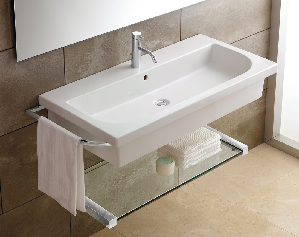 Modular Various Models Of Bathroom Sink Self Rimming Bathroom Sink intended for Small Bathroom Sinks Wall Mount
