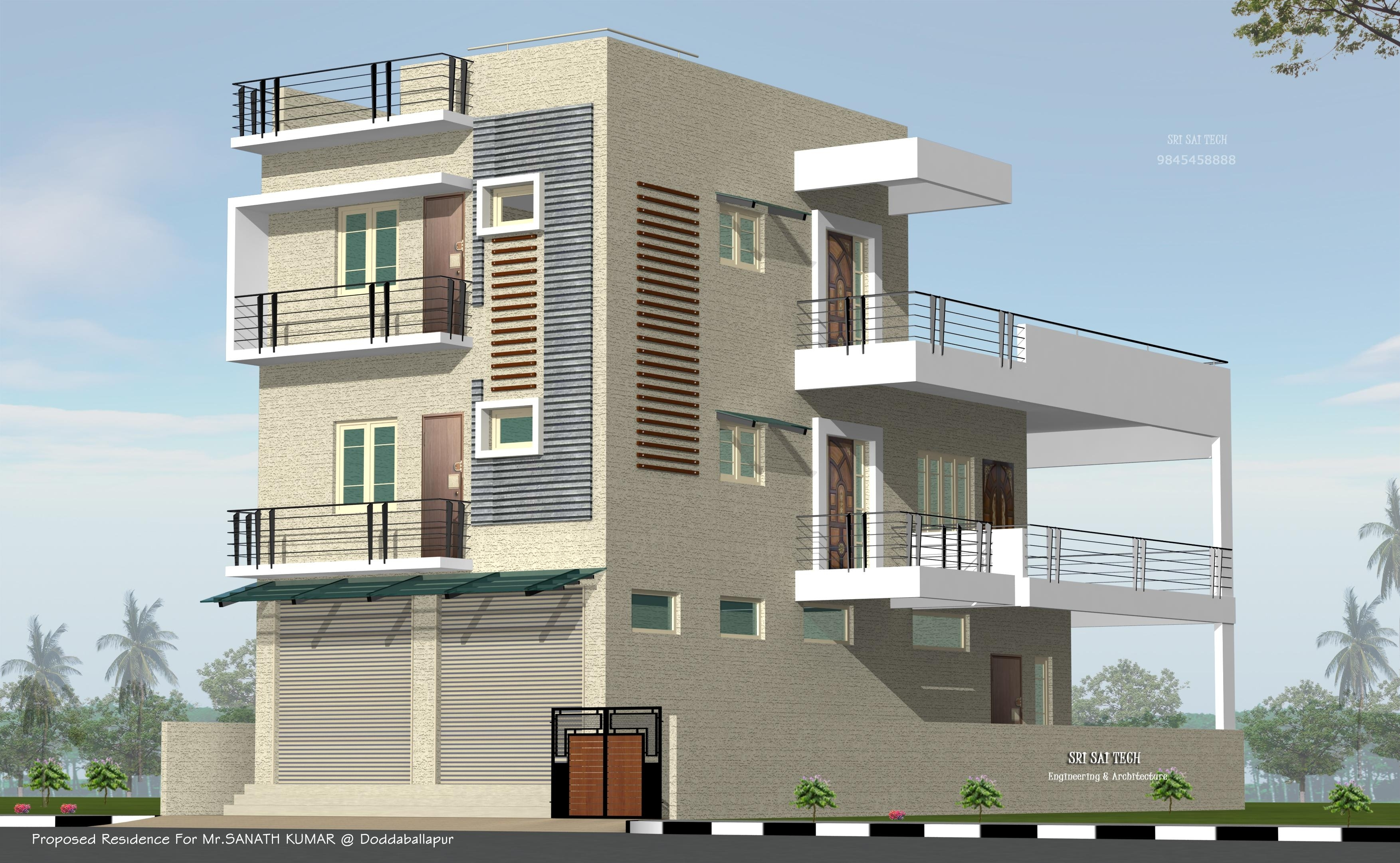 Modular Warm House Design Indian Style Plan And Elevation - House Style Design regarding Indian Home Elevation Design Photo Gallery