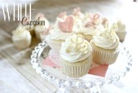 Modular White Cupcakes For A {Virtual} Baby Shower within Elegant Baby Shower Cupcakes