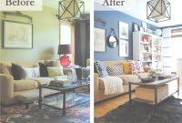 Amazing 26 Best Budget Friendly Living Room Makeover Ideas For 2019 pertaining to Living Room Before And After