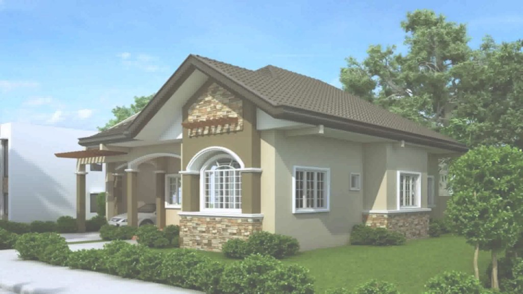 Amazing Bungalow House Design In The Philippines With Floor Plan - Youtube regarding Elegant Philippine Bungalow House Designs Pictures