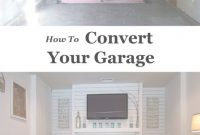 Amazing Garage Makeover | Blogger Home Projects We Love | Garage Room inside Garage Into Bedroom