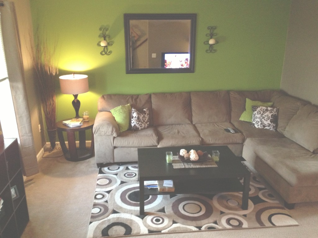 Amazing Green And Brown Living Room | Apartment Touch Up | Living Room in Set Green And Brown Living Room