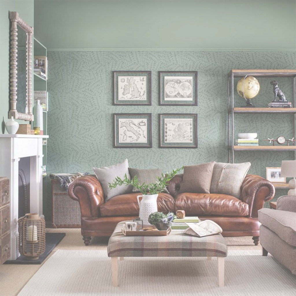 Amazing Green Living Room Ideas For Soothing, Sophisticated Spaces with Set Green And Brown Living Room