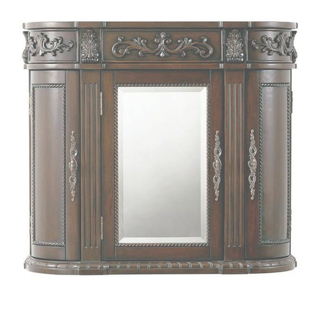 Amazing Home Decorators Collection Chelsea 31-1/2 In. W Bathroom Storage in Best of Bathroom Wall Cabinet With Mirror