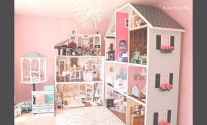 Amazing Huge American Girl Doll House Tour!!! New! 2018 - Youtube throughout Huge American Girl Doll House Tour