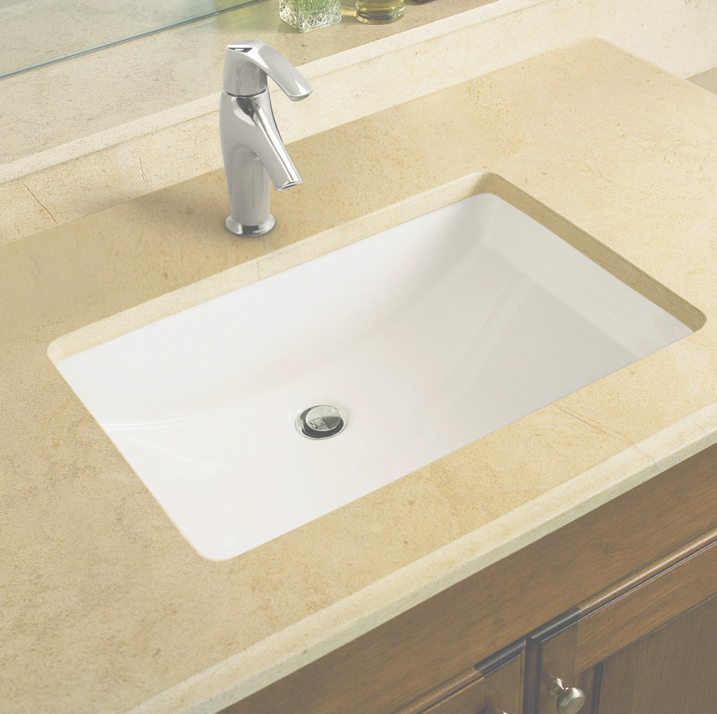 Amazing K-2215-0,96,95 Kohler Ladena Ceramic Rectangular Undermount Bathroom in Inspirational Undercounter Bathroom Sink