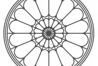 Amazing Pinpaulina Palacios On Stained Glass Patterns | Window Design throughout Set Rose Window Design