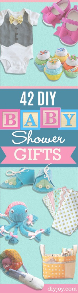 Beautiful 42 Fabulous Diy Baby Shower Gifts with New Homemade Baby Shower Gift Ideas