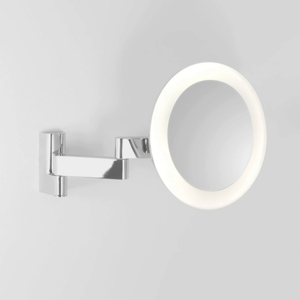 Beautiful Astro Lighting 0760 Niimi Led Ip44 Round Illuminated Magnifying Mirror with Luxury Bathroom Magnifying Mirror