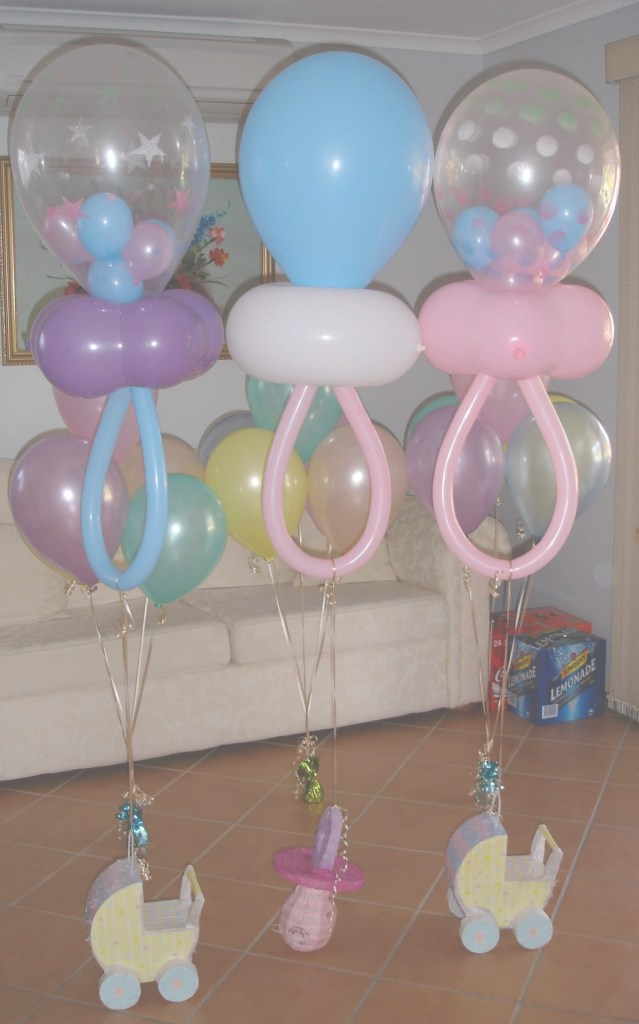 Beautiful Baby Shower Balloon Decoration | Party Favors | Baby Shower, Baby within How To Make Baby Shower Balloon Decorations