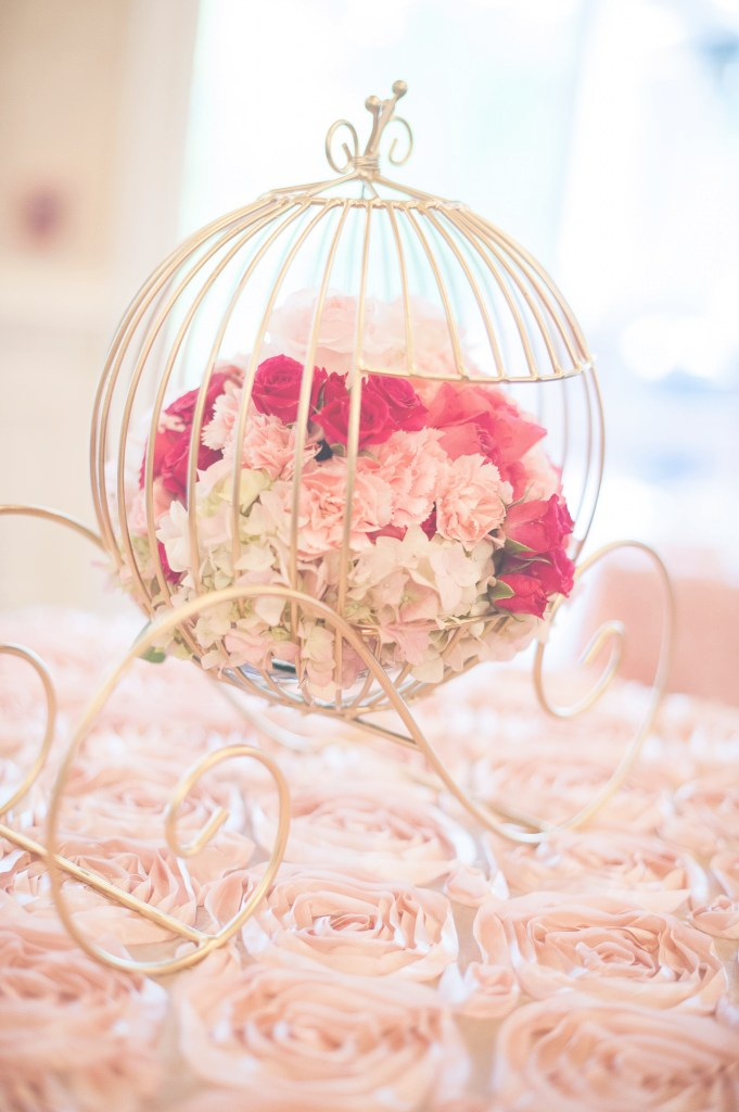 Beautiful Cinderella's Carriage Centerpiece | Sweet 16 | Decoracion Bodas inside Cinderella Baby Shower